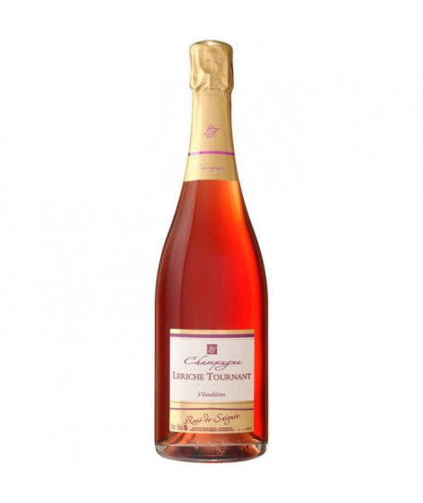 LERICHE TOURNANT Champagne - Brut - Rosé de saignée- 75 cl