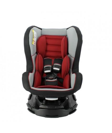 NANIA Siege auto pivotant 360° Revo luxe Groupe 0/1/2 - Rouge