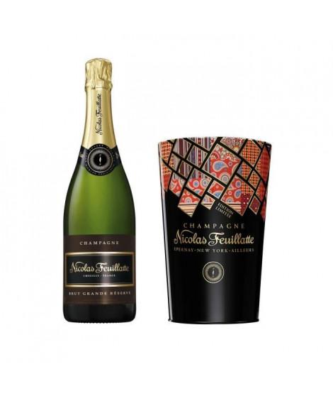 Champagne Nicolas Feuillatte Grande Réserve Brut 75cl + seau