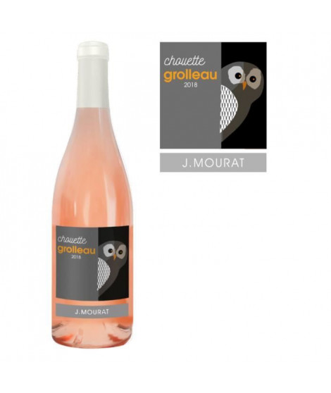 J. Mourat Chouette 2018 Grolleau - Vin rosé du Val de Loire