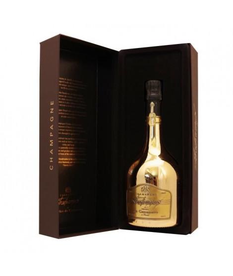 Champagne Charles de Cazanove cuvée Stradivarius millésimé 2009 Gold 75 cl COFFRET LUXE