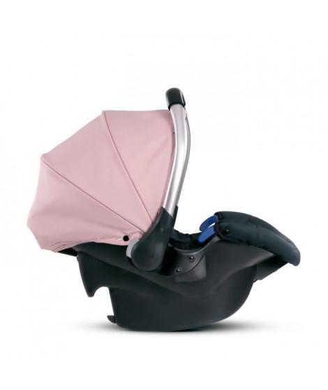 HAUCK Siege auto Comfort fix Groupe 0+ - Rose Gris