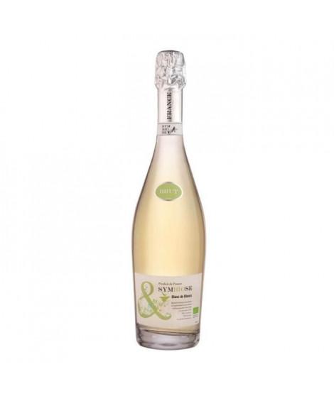 Symbiose Vin Mousseux Bio Brut Blanc - 75 cl