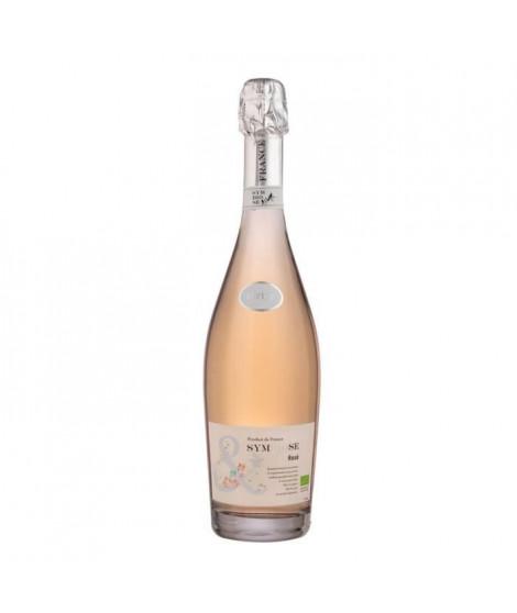 Symbiose Vin Mousseux Bio Brut Rosé - 75 cl