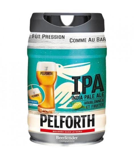 PELFORTH Fût de biere blonde - IPA - Compatible Beertender - 5 L