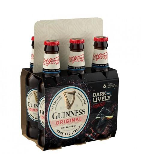 Guinness - Pack de 6 bieres x 25 cl