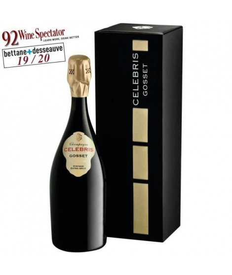 Gosset CELEBRIS 2004 Champagne Extra Brut x1