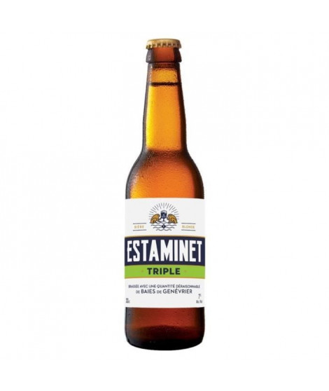 ESTAMINET - Biere Blonde - 7,0° - 33 cl