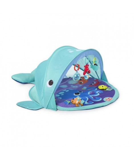 Bright Starts Tapis d'Eveil Explore & Go Whale™ Protection UV