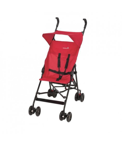 SAFETY 1ST Poussette Canne Peps + Canopy Plain red