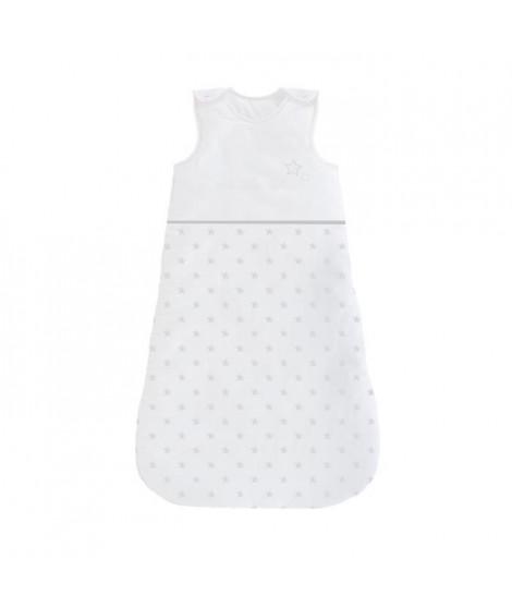 ABSORBA Gigoteuse Chut bébé dort - 100% coton - 90 cm - Gris