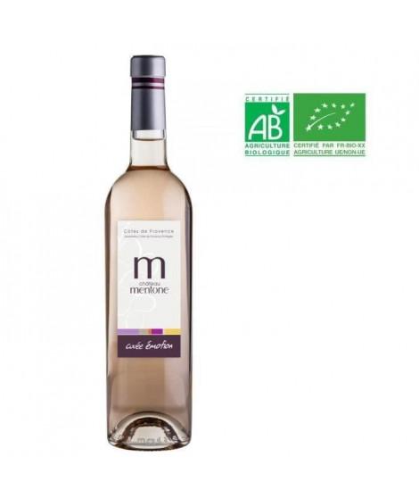 Château Mentone Emotion 2019 Côtes de Provence - Vin rosé de Provence - Bio
