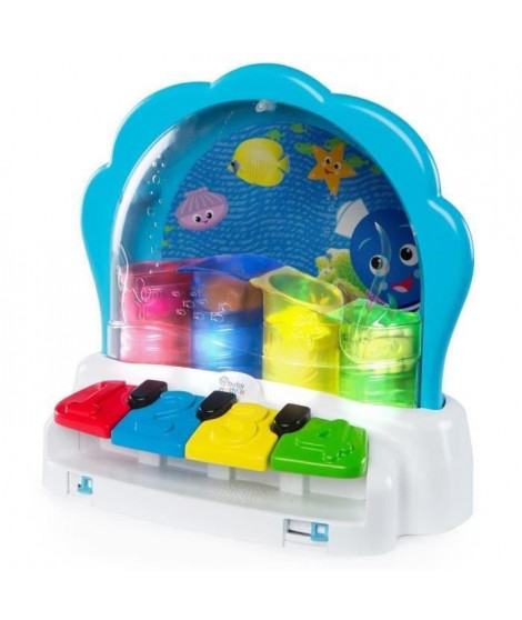 BABY EINSTEIN La palourde musicale Pop & Glow Piano™ - Bleu