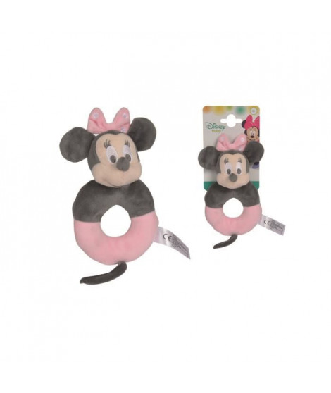 DISNEY Tonal Minnie Hochet Rose