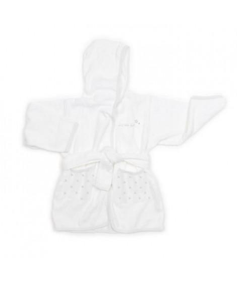 ABSORBA Peignoir Chut bébé dort - 100% coton - Gris
