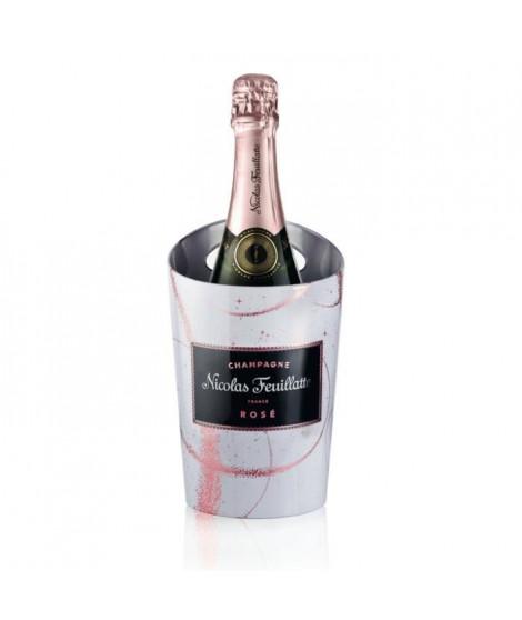 Champagne Nicolas Feuillatte Rosé + Etui Seau Terre de Merveille