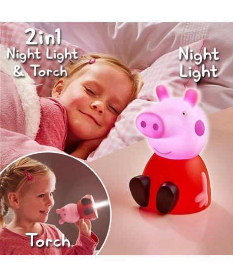 Peppa Pig-Veilleuse et lampe torche enfant GoGlow Buddy