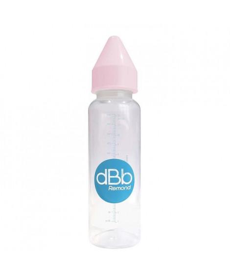 DBB REMOND Biberon Polypropylene Clear 360 Ml  Regul'air  Varitetine Caoutchouc - System Rose - S/Bte