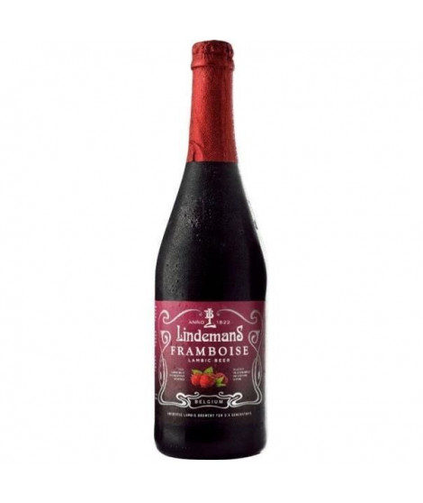 BRASSERIE LINDEMANS Framboise Biere Rouge Aromatisée - 75 cl - 2,5 %