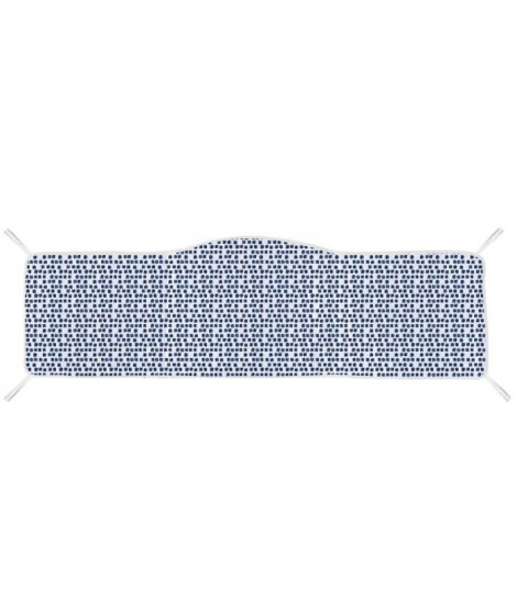 ABSORBA Tour de lit déhoussable Osaka garçon - 100% coton