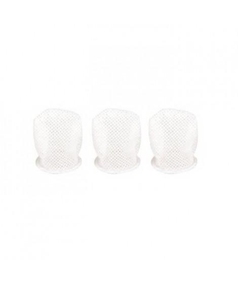 DBB REMOND Lot de 3 Filets Blancs pour Sucette Découverte