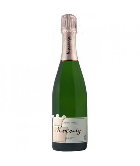 KoeNIG Crémant d'Alsace Casher - Blanc - 75 cl - AOC