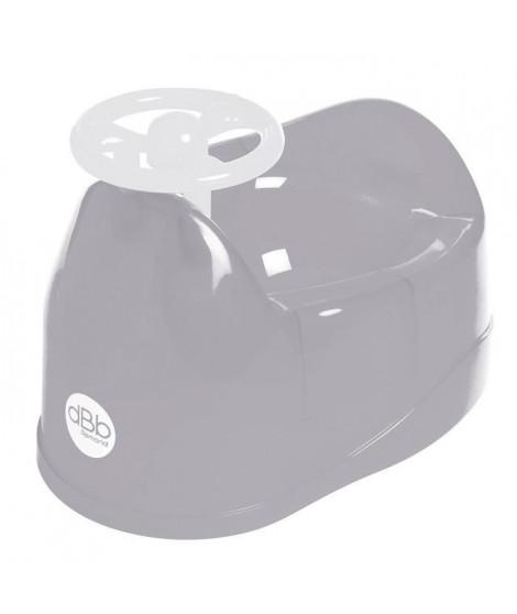 DBB REMOND Pot pour bébé avec volant - Gris translucide