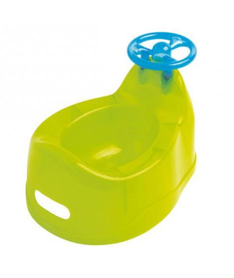 DBB REMOND Pot pour bébé avec volant - Vert translucide