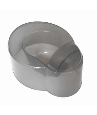 DBB REMOND Pot bébé 2 en 1 - Pot et urinoir - Gris translucide