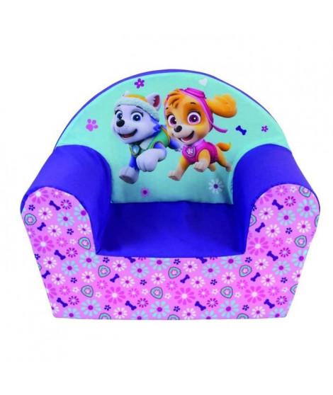 PAT PATROUILLE Fille fauteuil club en mousse pour enfant
