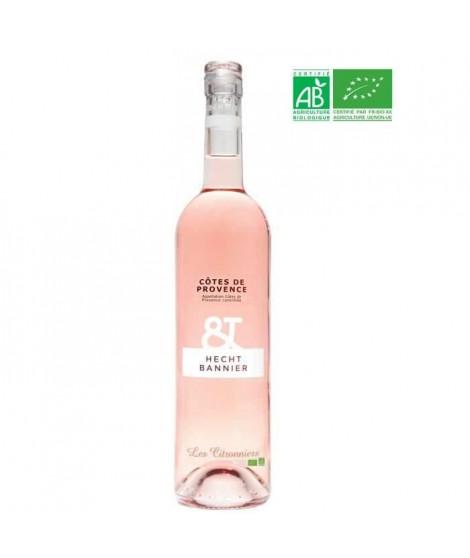 Hecht-Bannier 2018 Côtes de Provence-les Citronniers - Vin rosé de Provence - Bio