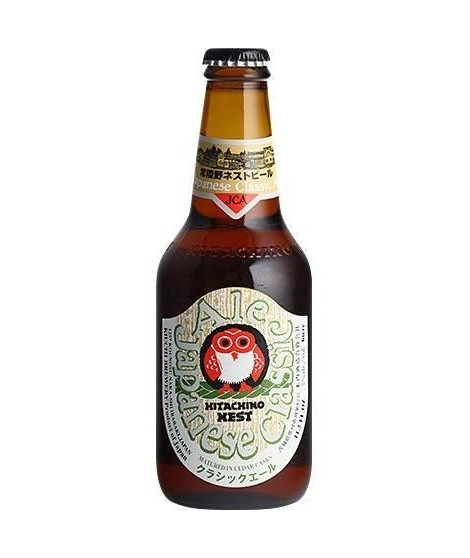 HITACHINO - Nest Japanese Classic - Biere Blonde - 7,0° - 33 cl
