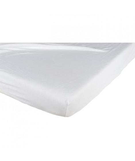 CANDIDE Drap housse coton 70x140 cm - Blanc