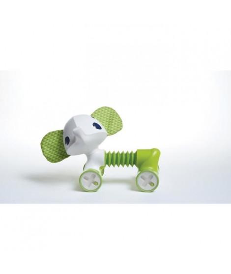 TINY LOVE Jouet d'eveil Tiny Roller Friends Samuel L'éléphant vert