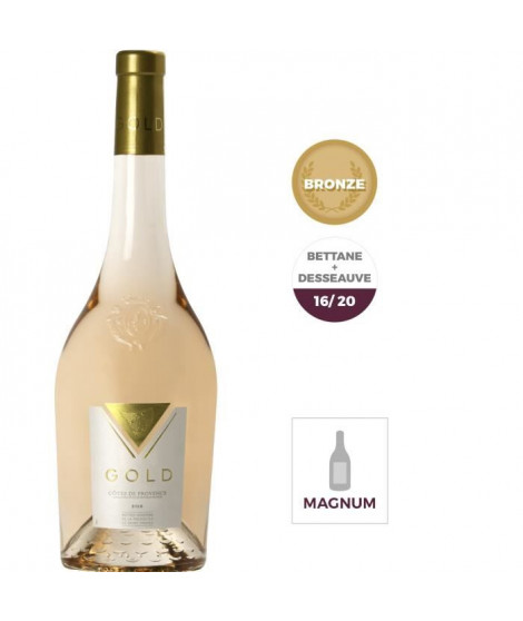 Magnum Gold 2018 Côtes de Provence - Vin rosé de Provence