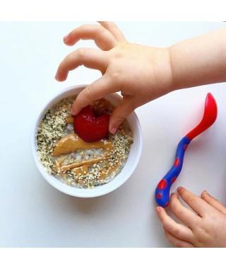 NUBY Cuillere et fourchette d'apprentissage - 12 mois +