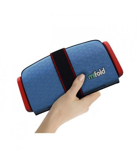 MIFOLD Réhausseur enfant 10x plus compact qu'un rehausseur traditionnel - bleu