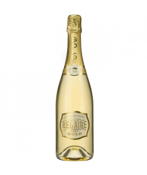 Luc Belaire Gold - Vin Effervescent de France - 12,5% - 75 cl