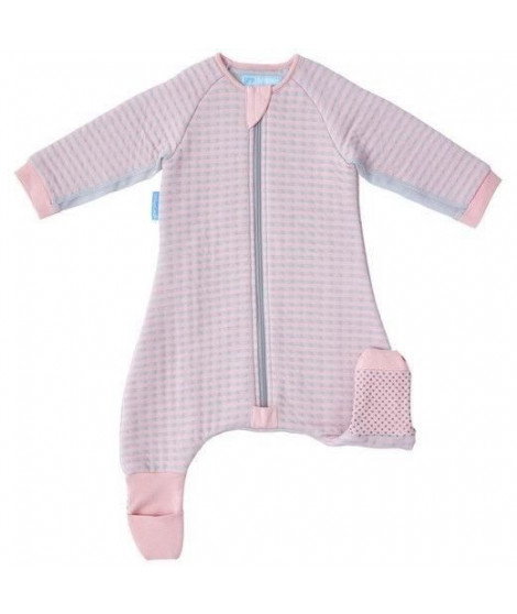 THE GRO COMPANY - Sur-pyjama GroRompers - Rayures roses - 12-24 mois