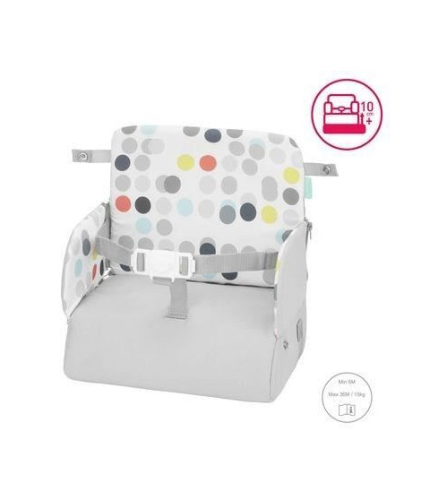 BADABULLE Rehausseur de Chaise Enfant Sunday Pop