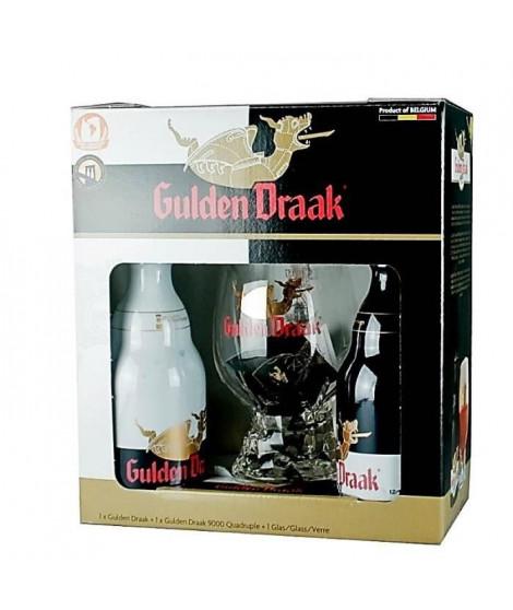BRASSERIE VAN STEENBERGE Coffret Gulden Draak 2 bieres + 1 verre - 33 cl - 10,5 % / 10,7 %