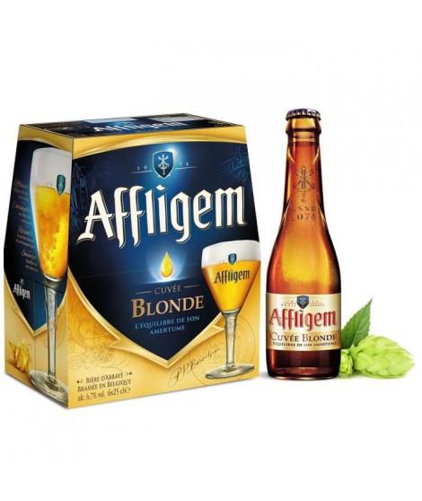 AFFLIGEM Pack de 6 Bieres blondes 6,7° - 25 cl