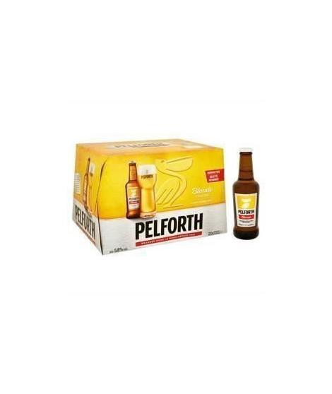 PELFORTH Biere blonde - 20 x 25 cl - 5,8 %
