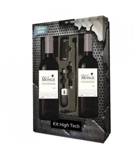Coffret Vin High Tech 2x Côtes de Bourg 2010