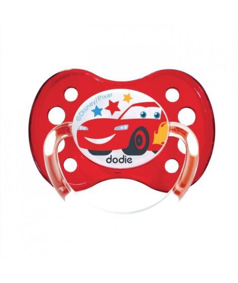 DODIE Sucette anatomique Duo A68 - A partir de 6 mois - Disney Cars