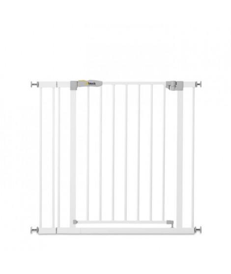 HAUCK Barriere de sécurité enfant Stop'n Safe 2 + extension 9 cm - Blanc
