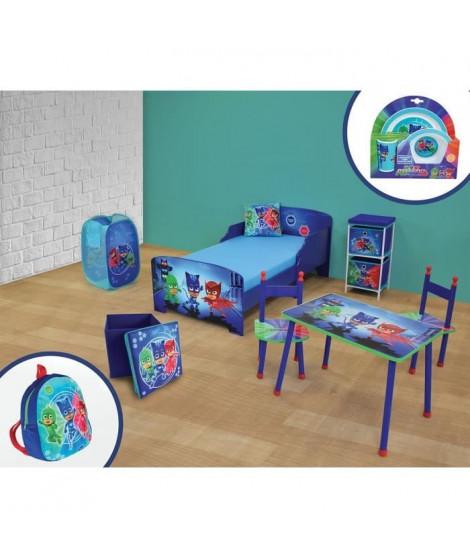 CIJEP PYJAMASQUES Pack chambre complete - 10 éléments - Lit 140 x 70 cm