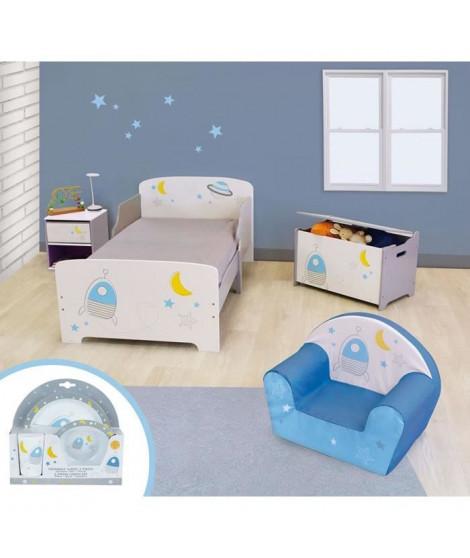 CIJEP Pack chambre pour enfant theme Espace - modele aléatoire
