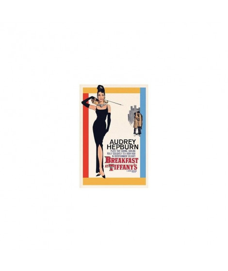Affiche film Audrey Hepburn - Breakfast at Tiffanys