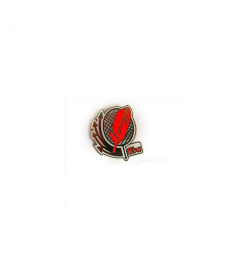 Broches rouges  FF-Badminton